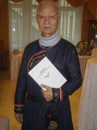 лауреат 2021 года Владимир Санги